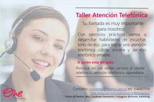 Atención telefonica